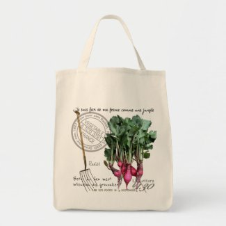 My radish for your bag. トートバッグ