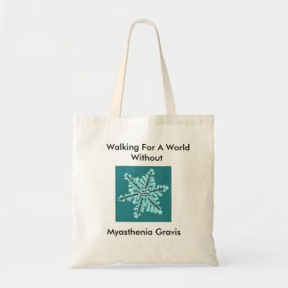 Myasthenia Gravisなしで世界のために歩くこと トートバッグ