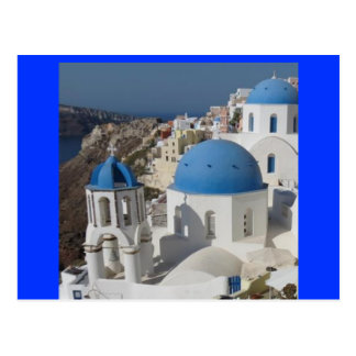 Mykonosギリシャ旅行 ポストカード