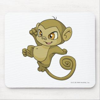 Mynciブラウン マウスパッド