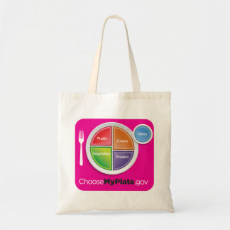 MyPlateの買い物袋- Magneta トートバッグ
