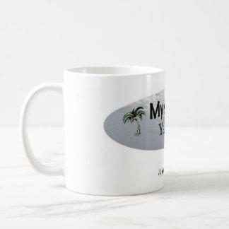 Myrtle Beachのヤードセールのマグ コーヒーマグカップ
