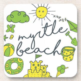 Myrtle Beachの原稿 コースター