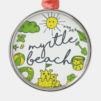 Myrtle Beachの原稿 メタルオーナメント