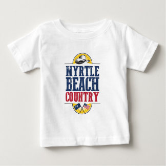 Myrtle Beachの国への歓迎 ベビーTシャツ