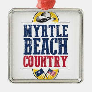 Myrtle Beachの国 メタルオーナメント