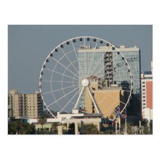 Myrtle Beachの空の車輪 ポストカード