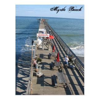 Myrtle Beachサウスカロライナの郵便はがき ポストカード