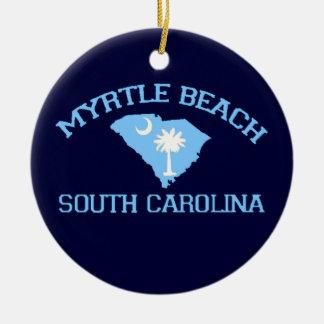 Myrtle Beach。 セラミックオーナメント