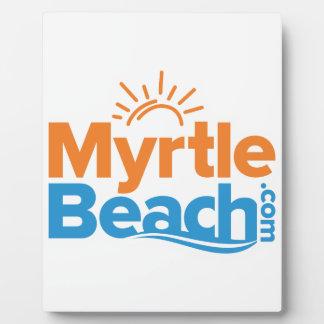 MyrtleBeach.comのロゴ フォトプラーク