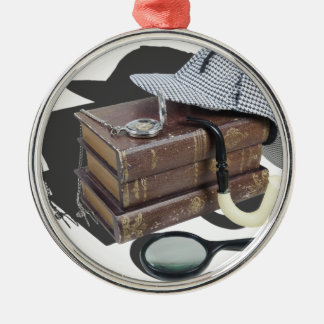 MysteryBooksHatPipeMagnifier042113.png メタルオーナメント