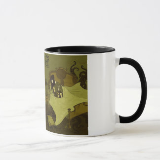 Mythos Grimmlyの芸術のマグ マグカップ