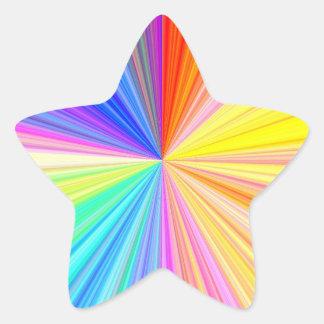 nの装飾的なペーパー・クラフト書の数々のな目的 星シール
