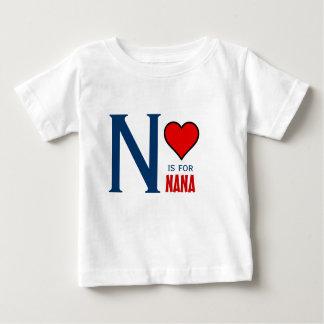 Nはナナのためです ベビーTシャツ