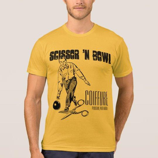 「nボールの髪型を切って下さい。  金ゴールドの版 tシャツ