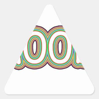 n00b 三角形シール
