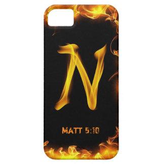 """""""N""""の穹窖のやっとそこにiPhone 5/5Sの場合 iPhone SE/5/5s ケース"""