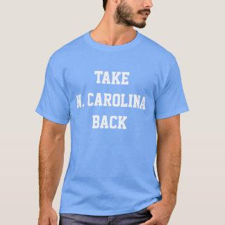 """""""N.カロライナ""""のTシャツ取って下さい Tシャツ"""