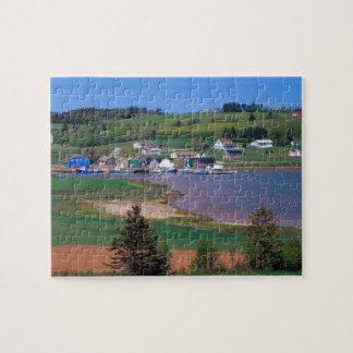 N.A. カナダ、プリンス・エドワード・アイランド。 ボートはあります ジグソーパズル
