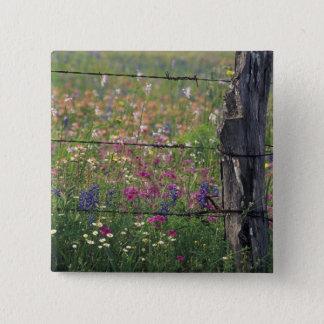 N.A、米国、テキサス州、Lytleの塀のポスト 5.1cm 正方形バッジ