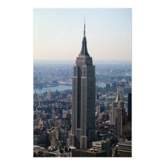 N.A.、米国、ニューヨーク、ニューヨークシティ。 帝国 フォトプリント