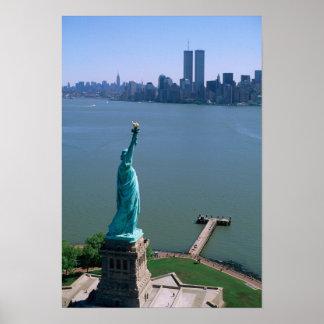 N.A.、米国、ニューヨーク、ニューヨークシティ。 彫像 ポスター