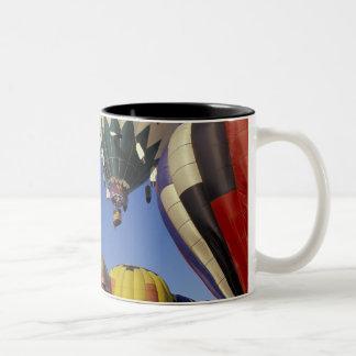 N.A.、米国、ワシントン州、Walla Walla、Walla Walla ツートーンマグカップ