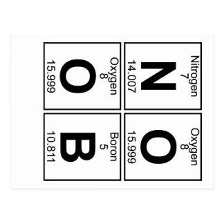 N-O-O-B (noob) -十分に ポストカード