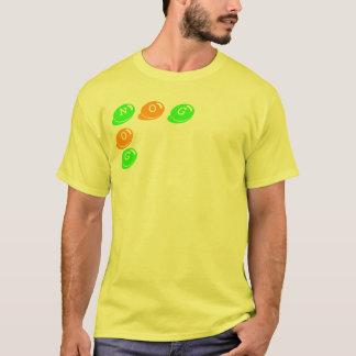 N、O、O、G、G Tシャツ