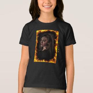 """""""N"""" Petraの女の子のアメリカの服装のTシャツ Tシャツ"""