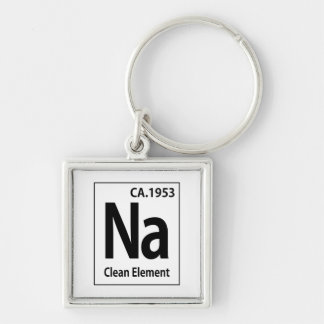 NAのきれいな要素の周期表 キーホルダー