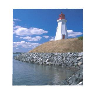 NA、カナダ、ニューブランズウィックのCampobelloの島。 5 ノートパッド