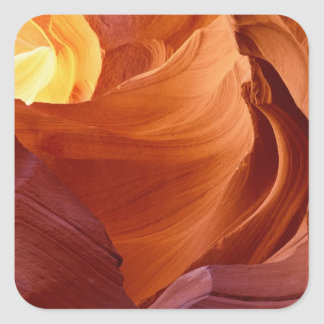 NA、米国、アリゾナのParia渓谷。 砂岩2 スクエアシール