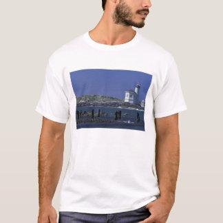 NA、米国、オレゴン、BandonのCoquilleの灯台 Tシャツ