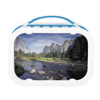 NA、米国、カリフォルニア、ヨセミテNP、谷の眺め ランチボックス