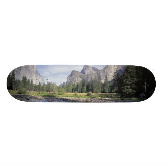 NA、米国、カリフォルニア、ヨセミテNP、谷の眺め 21.6CM オールドスクールスケートボードデッキ