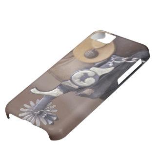NA、米国、テキサス州、ラボックのカウボーイ・ブーツおよび拍車 iPhone5Cケース