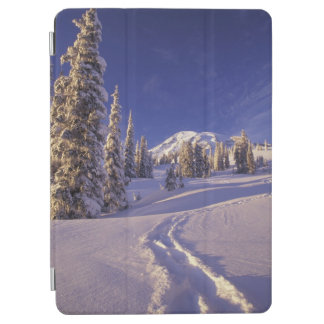 NA、米国、ワシントン州、レーニア山NPのかんじき iPad AIR カバー