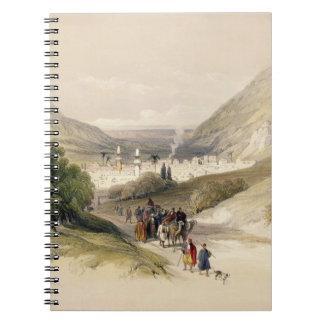 Nablousへの入口、1839年は4月17日、41をのためのめっきします ノートブック