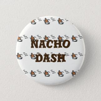 Nachoのダッシュ 5.7cm 丸型バッジ