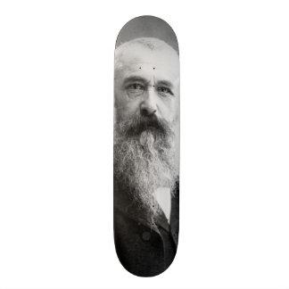 Nadar (1899年)著クロード・モネの写真 スケボー