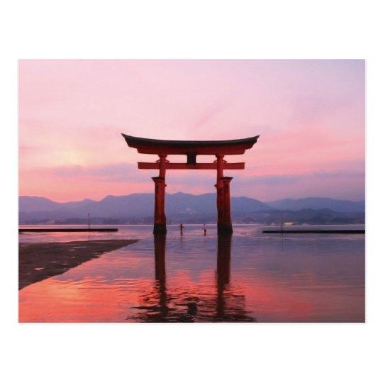 """Nagao Shrine in Kumamoto""(永尾神社・熊本)日本 ポストカード"