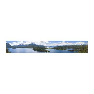 Nahuel Huapiのキャンバス キャンバスプリント