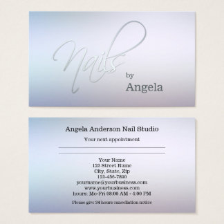 Nail Studio Appointment Business Card 名刺