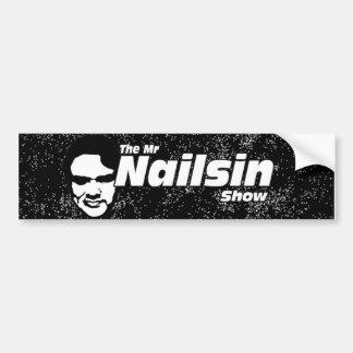 Nailsin Show氏のバンパーステッカー バンパーステッカー