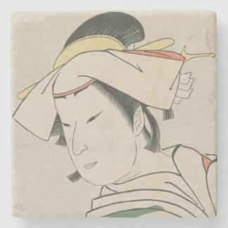 Nakamura Noshio TonaseとしてII、1795年 ストーンコースター