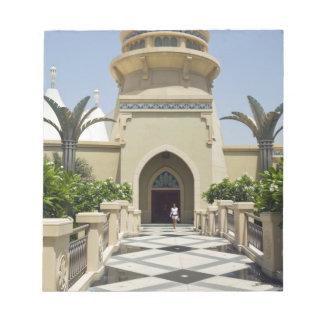 Nakheelのオフィス、ドバイ、アラブ首長国連邦、 ノートパッド