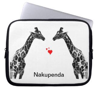 nakupendaのキリン ラップトップスリーブ
