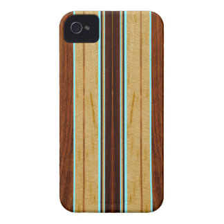 Nalu Hou模造のなKoaの木製のサーフボードのiPhone 4つのケース Case-Mate iPhone 4 ケース