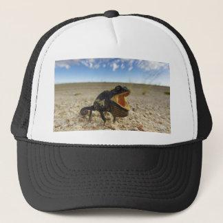 NamaquaのカメレオンのChamaeleoのnamaquensis キャップ